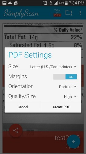 SImplyScan: PDF Camera Scanner for Android