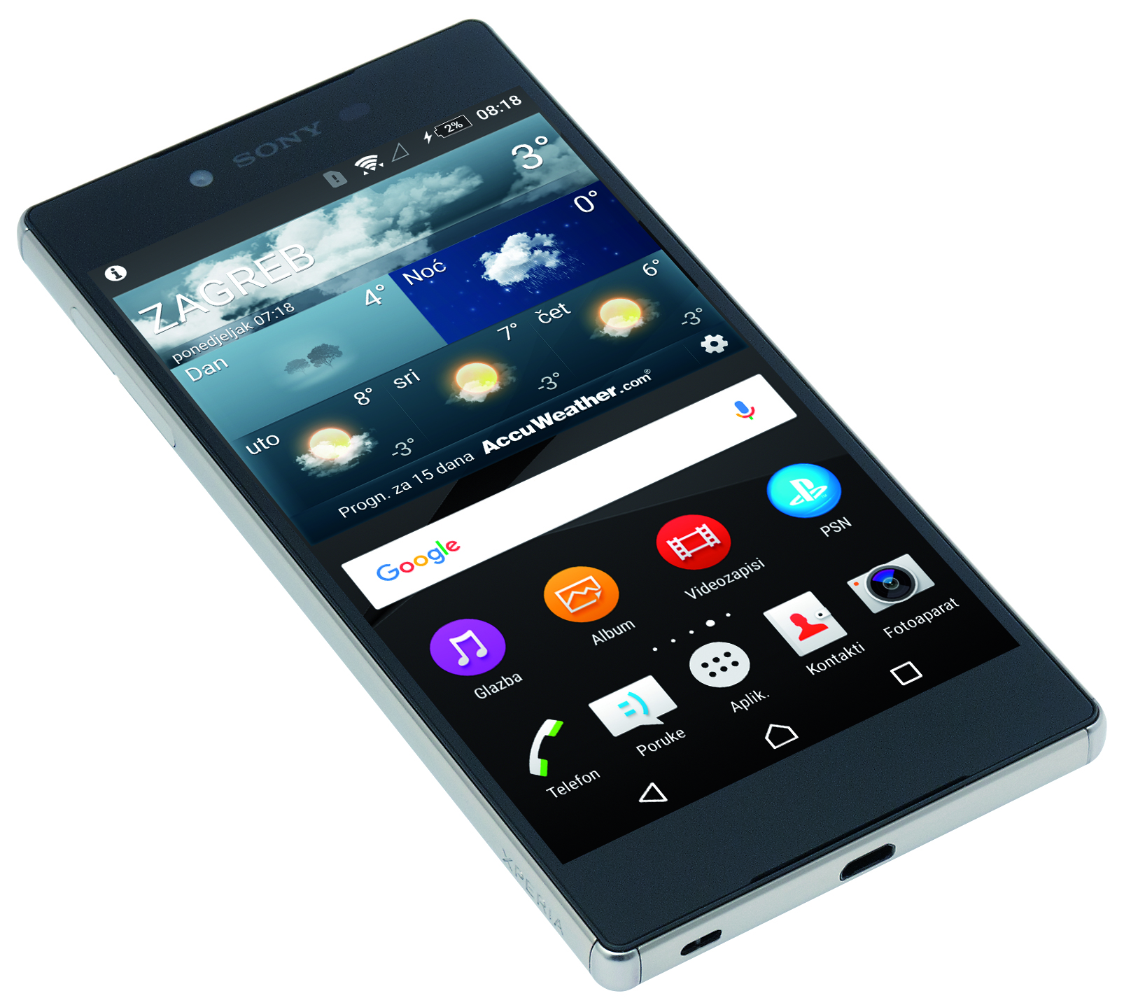 Sony Xperia Z5 Premium has a 4k display.