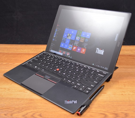The Lenovo ThinkPad X1 Tablet looks just like a Surface Pro.