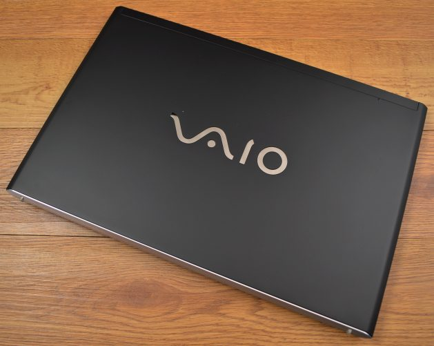 The VAIO S has a high build quality.