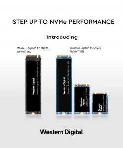 Western Digital SN520 and SN720 SSDs