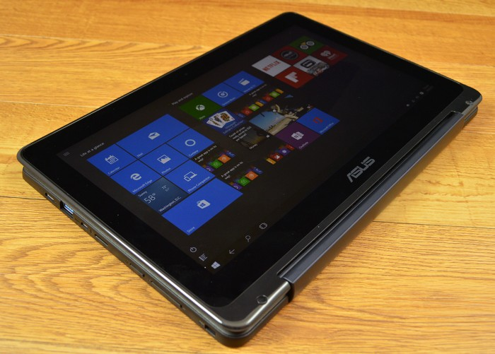 The Asus Transformer Book Flip is a 2-in-1 with tablet mode.