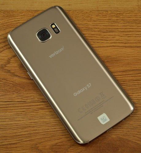 The Galaxy S7 has a metal and glass build, but the back panel is not removable.