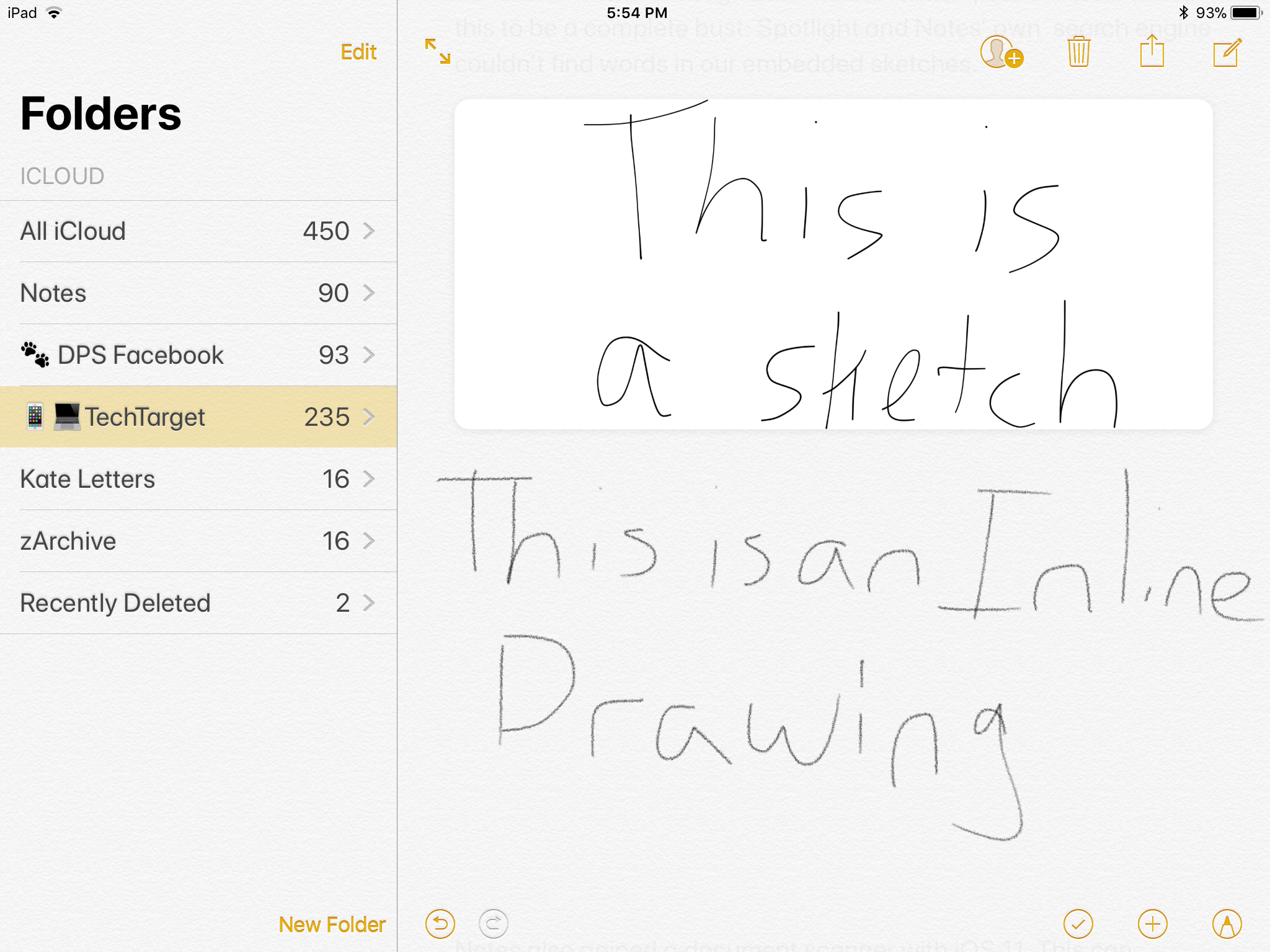 How To Draw In Notes Ios 11