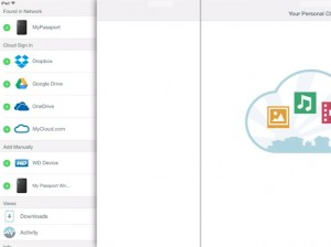 WD My Cloud iOS app