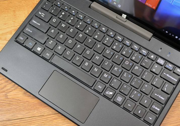iRULU Walknbook 3 keyboard