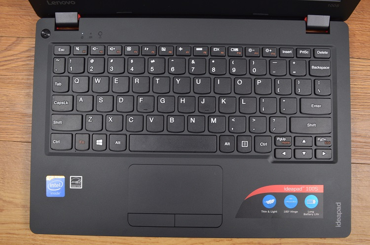 Lenovo ideapad 100s review windows 10 on a budget for Window keyboard