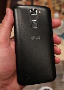 LG K Series back panel