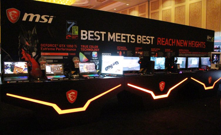 MSI at CES 2017