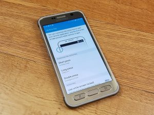 samsung galaxy s7 active settings