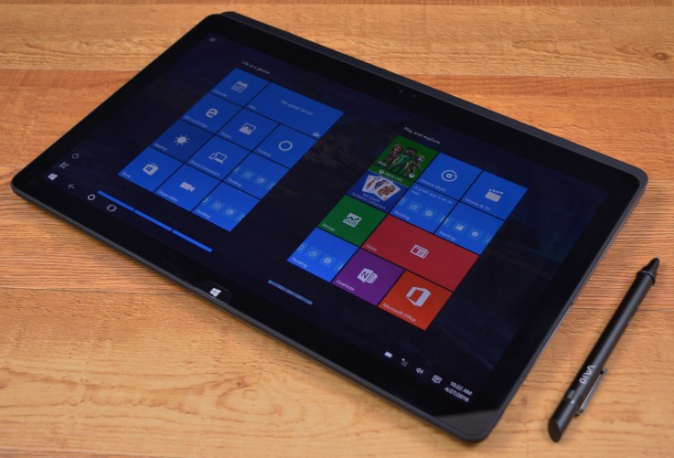 VAIO Z flip model tablet mode
