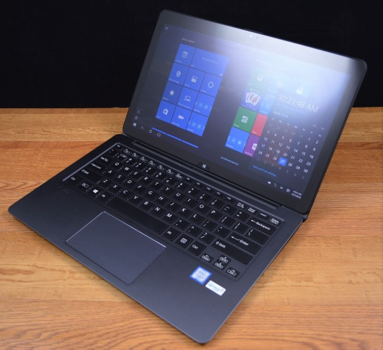 The VAIO Z flip model laptop mode