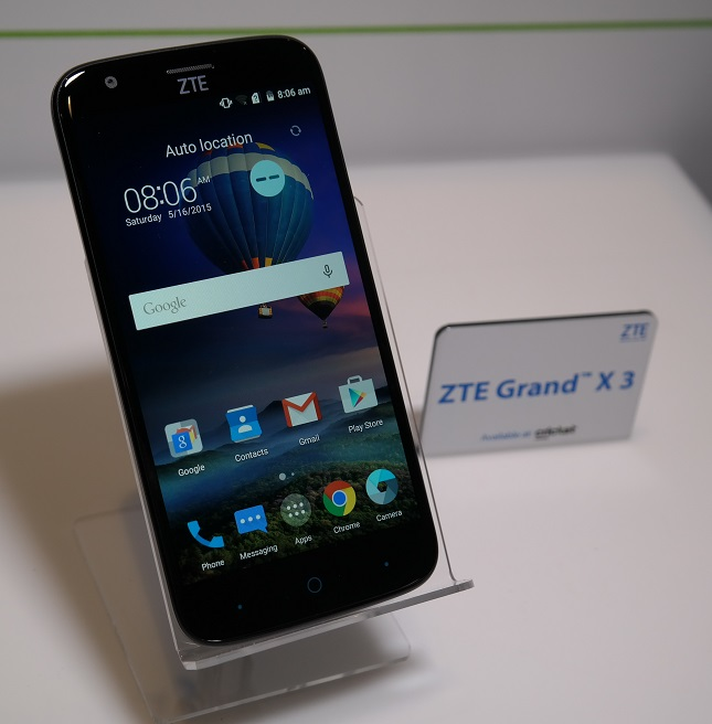 zte grand x3 unlock was released the